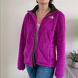 North Face Osito fleece coat - magenta size SM
